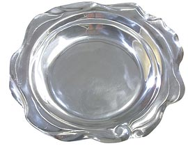 Mexican Pewter Tray