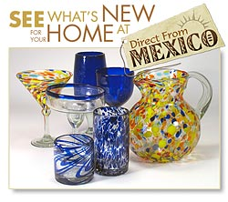 Mexican Glassware - New Products
