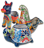 Talavera Animal Pots
