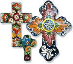 Talavera Wall Crosses