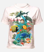 T-shirt - Red Sea Fish