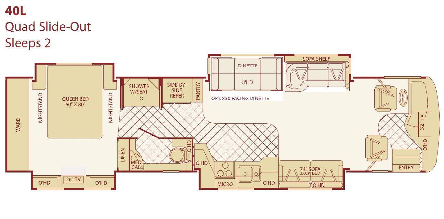 2005 american tradition 40j american eagle 300 center for Traditions of america floor plans