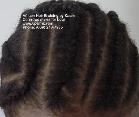 Boys cornrow styles- Angles, front view, in new jersey (NJ, PA, NY).