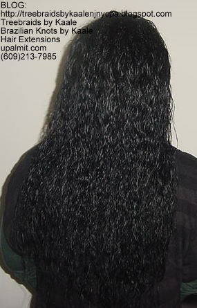 Wet and wavy Individual Treebraids, Right119.