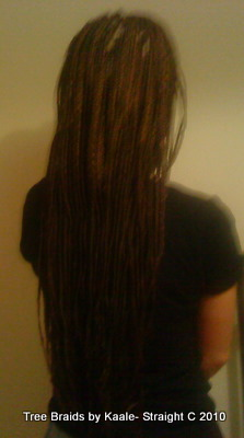 Box braids White Back 20.