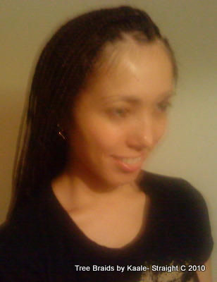 Box braids White Right 20.