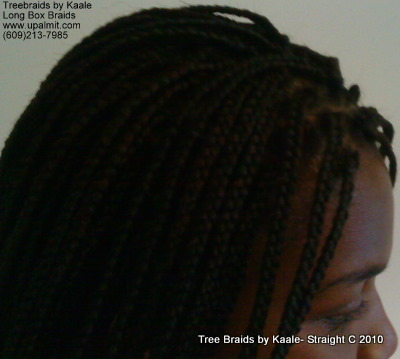 Box braids, Side close up 5.