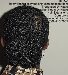 Treebraids by Kaale- Cornrows, Back112.