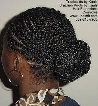 Treebraids by Kaale- Cornrows, Right 112 L.