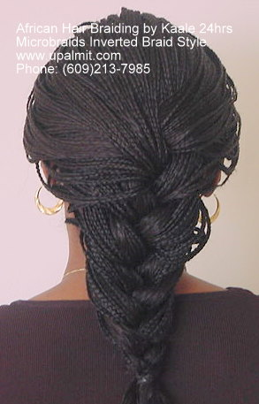 Inverted microbraids.