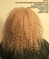 Tree Braids- Cornrows- follow my client back to healthy hair, Back2444.