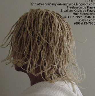Short kinky twists with Kinky Bulk Left202.