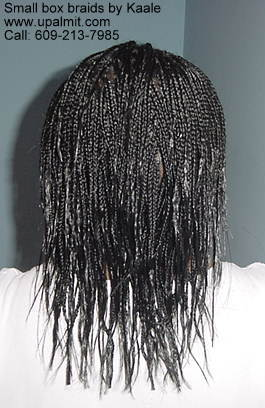 Box braid.