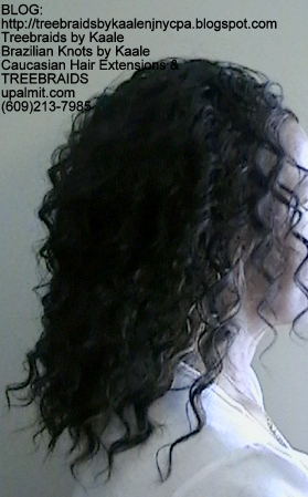 Tree Braids- Cornrows with Deep Bulk human hair Right2286.