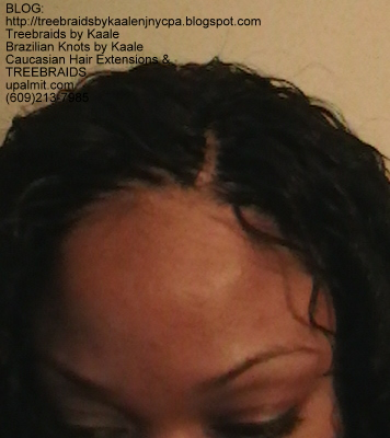 Tree Braids- Cornrows with Deep Bulk human hair Top2271.