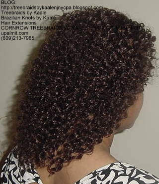 Cornrow Tree Braids KAALE Brand Kinky curly Right175.