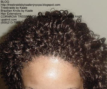 Cornrow Tree Braids KAALE Brand Kinky curly Top176.