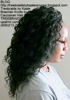 Tree Braids with KAALE human hair Right340.