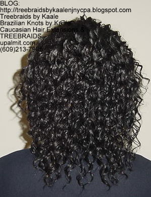 Tree Braids with KAALE human hair Back330.
