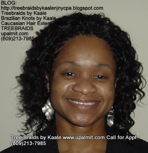Tree Braids with KAALE human hair Top333.