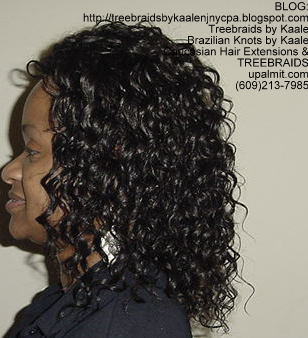 Tree Braids with KAALE human hair Left331.