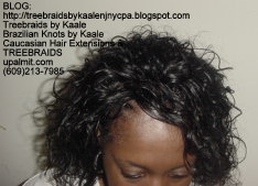 Tree Braids with Wet n Wavy human hair Top2220.