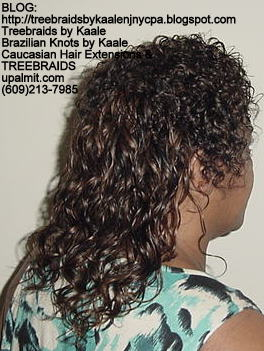 Treebraids with Wavy human hair Right2186.