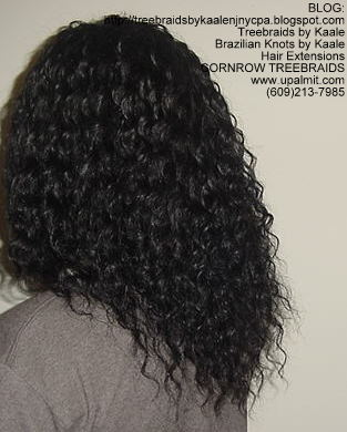 Treebraids by KAALE- Deep Bulk Wavy, Left2185.