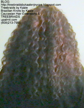 Tree Braids with KAALE Brand Deep Bulk human hair Back346.