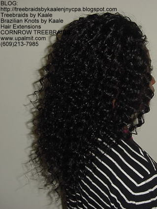 Cornrow Tree Braids Loose Wavy hair Right195.