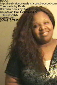 Tree Braids- Individuals with Wet and Wavy human hair Front2259.