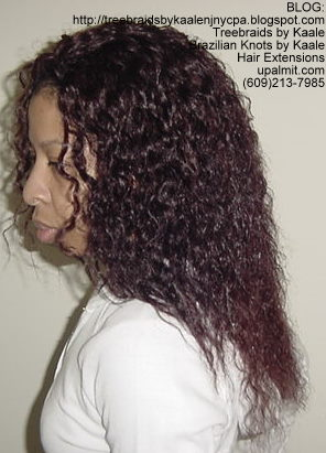 Wet n Wavy Tree Braids, Kaale Brand hair Left146.