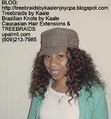 Tree Braids- Deep Wavy human hair Front2225.