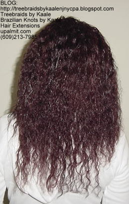 Wet n Wavy Tree Braids, Kaale Brand hair Back145.
