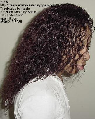 Wet n Wavy Tree Braids, Kaale Brand hair Right`47.