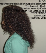 Tree Braids- Deep Wavy human hair Left2222.