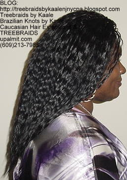 Tree Braids with KAALE human hair Right336.