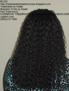 Cornrow Tree Braids KAALE Brand Back171.
