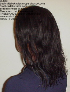 Tree Braids by Kaale used Loose Body Wavy pure Brazilian Remy hair Left31013.
