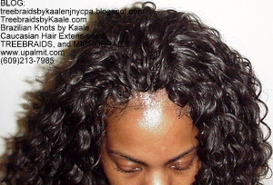 Tree Braids by Kaale- Cornrows with deep bulk hair Top.