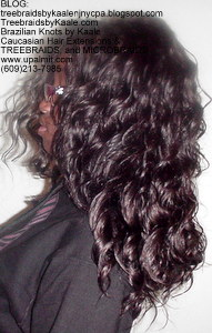 Tree Braids by Kaale, individual treebraids with deep bulk hair Left2249.
