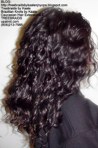 Tree Braids by Kaale, individual treebraids with deep bulk hair Right2248.