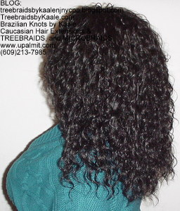 Tree Braids by Kaale, Individual treebraids Medium size Left41213.