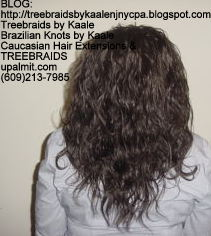 Tree Braids- Loose Wavy human hair Back2226.