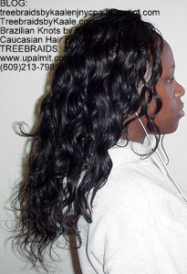 Tree Braids by Kaale- Cornrow treebraids with wavy hair Right7.