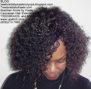 Tree Braids by Kaale, cornrow treebraids SmallMedium size Front2013.