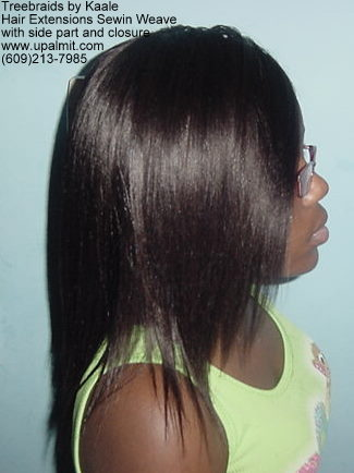 Straight hair extensions, Sewin- R12.