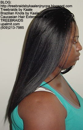 Treebraids with Wavy human hair Right2190.