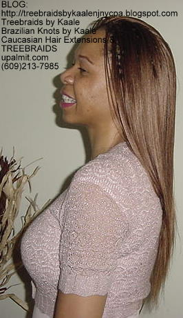 Treebraids with straight hair Left2162.
