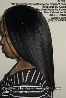 Treebraids with Straight human hair Left2193.